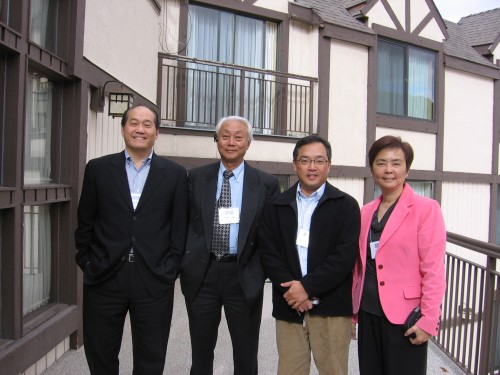 10-10-09 Blanche with Robert Lee, Dr. Fung and George Fei