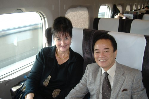 Day 12 Bullet Train to and Meeting in Osaka 053